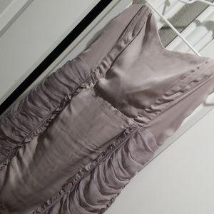 Lush strapless dress